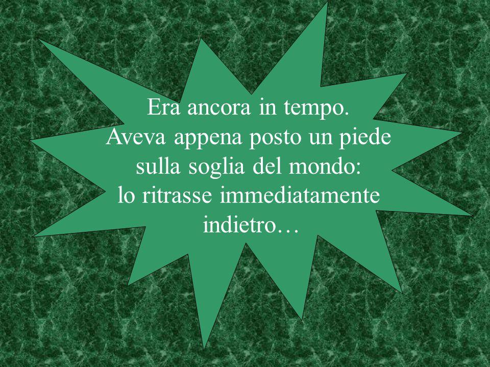 …a Roma lo attendeva però una grande delusione: non vi trovò altro, purtroppo, che giovani sbandati, rovinati per le strade del vizio.