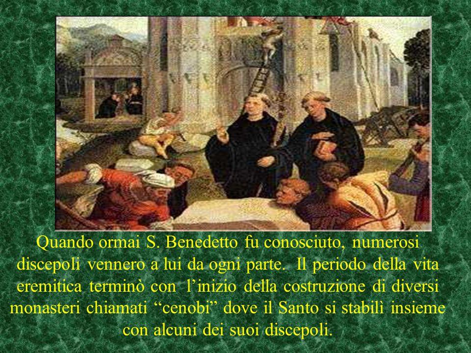 Da questo episodio nacque la famosa preghiera di esorcismo coniata sulla medaglia di S. Benedetto con le iniziali in latino La preghiera in italiano h