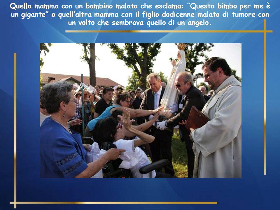 Quei bambini della Scuola dell'Infanzia, quei ragazzi dell'Oratorio Estivo che sono stati visitati dal Card. Tettamanzi e che poi hanno riempito la Ch