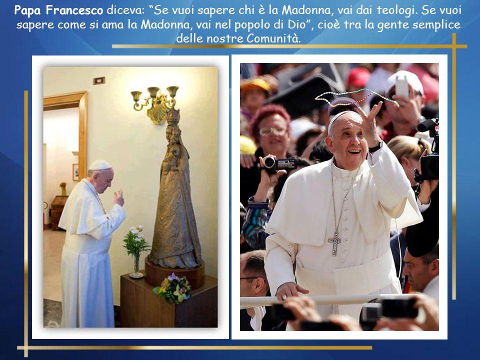 Nei giorni scorsi, dal 16 al 23 giugno, abbiamo visto la splendida testimonianza della fede di un popolo verso la Madre di Dio, con la venerazione del