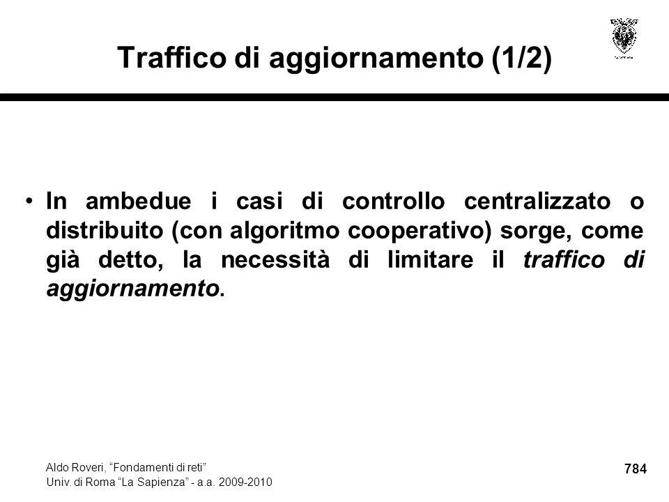 784 Aldo Roveri, Fondamenti di reti Univ. di Roma La Sapienza - a.a.