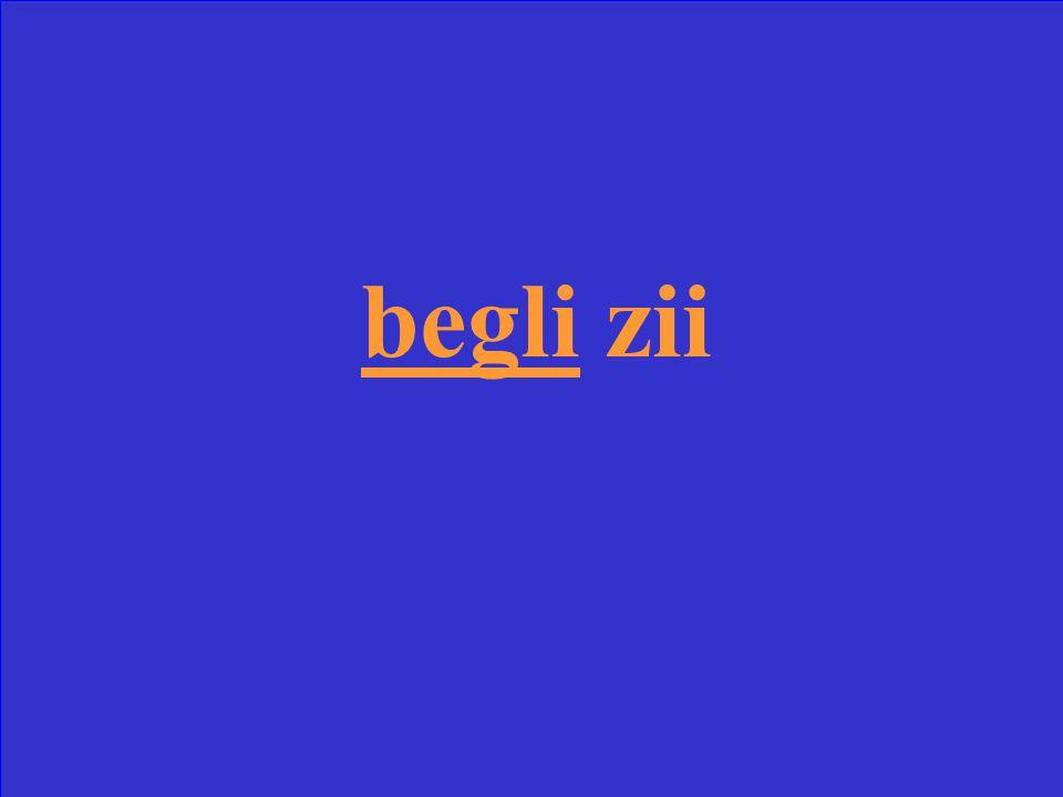 Scrivi la forma corretta di bello _______ zii