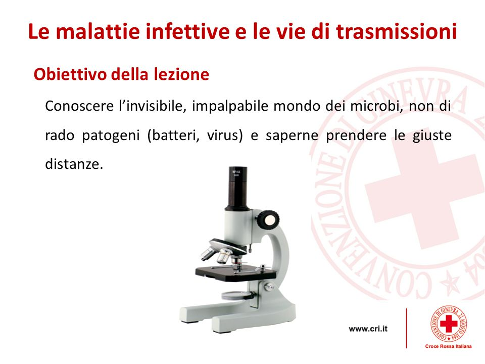 Equipaggio Le malattie infettive e le vie di trasmissioni Dovrebbe essere costituito dal minor numero possibile di operatori.