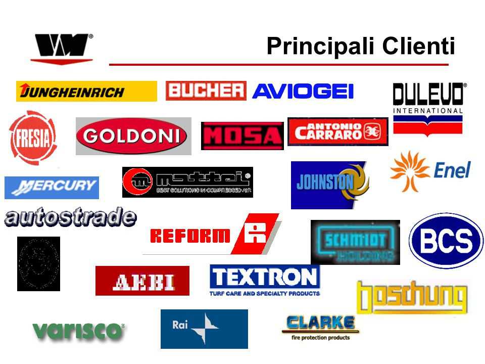 Principali Clienti SCARAB LTD