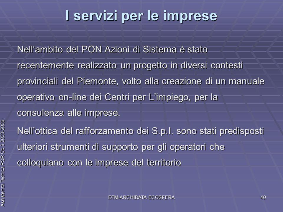 Assistenza Tecnica POR Ob.3 2000-2006 Assistenza Tecnica POR Ob.3 2000-2006.