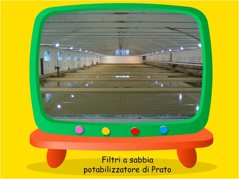 Controlli batteriologici presso il potabilizzatore di Prato