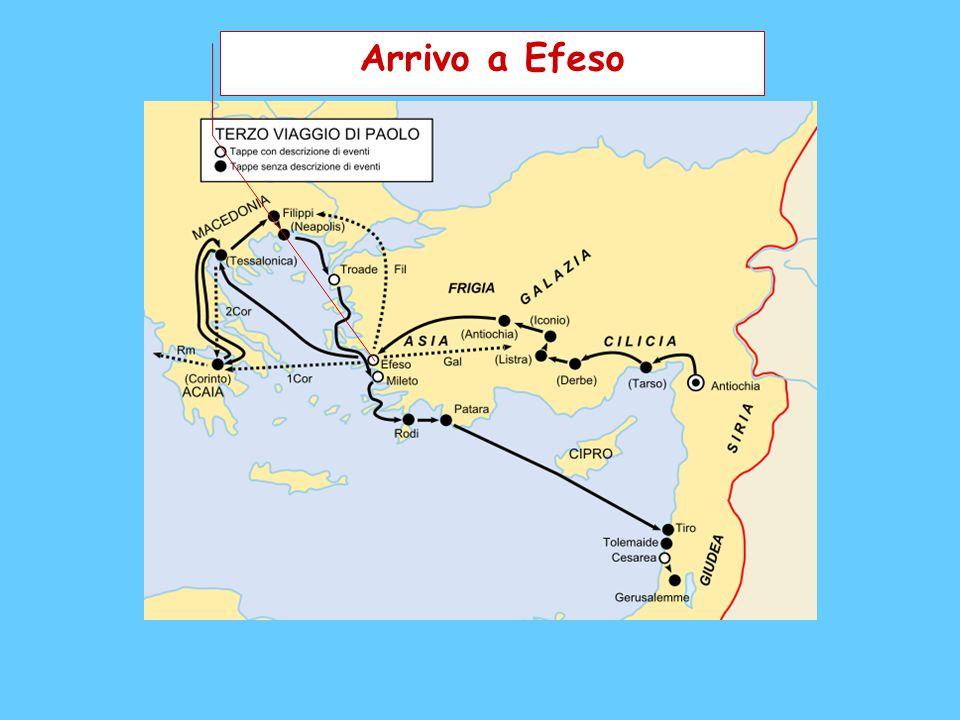 Arrivo a Efeso