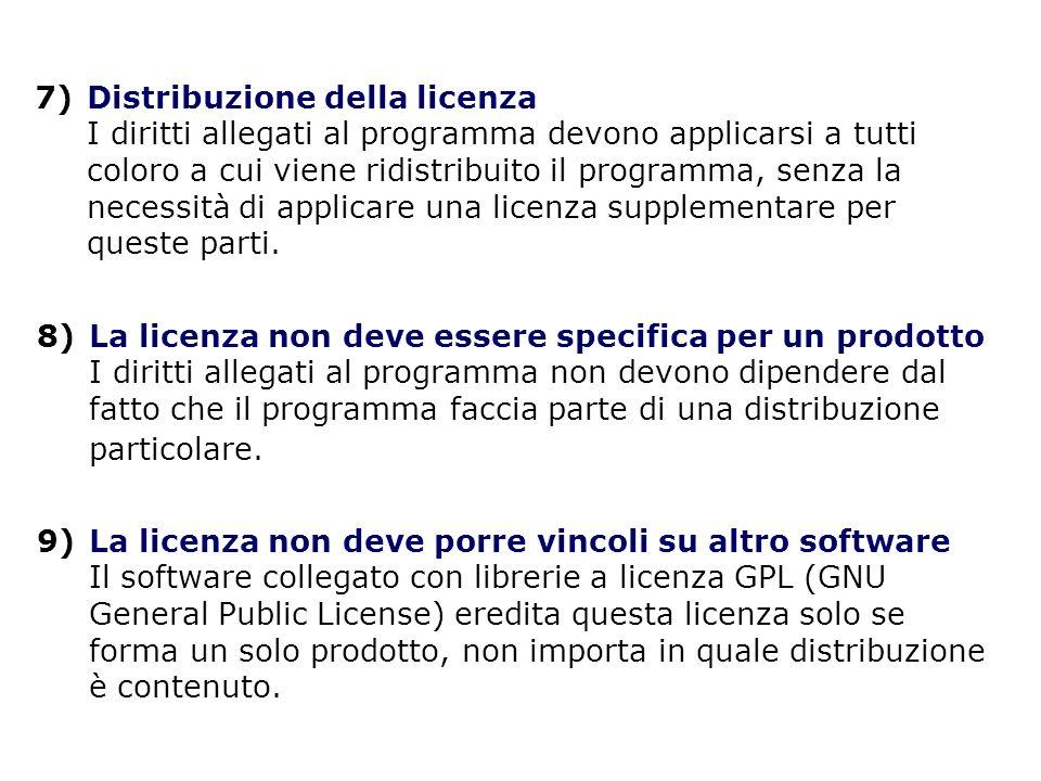 GPL e Copyleft Specifica uno stato legale che è una sorta di copyright al rovescio: invece che un metodo per privatizzare il software, è un mezzo per mantenerlo libero.
