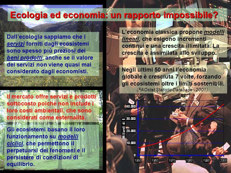 Ecologia ed economia: un rapporto impossibile.
