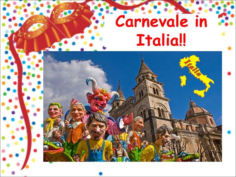 Carnevale in Italia!!