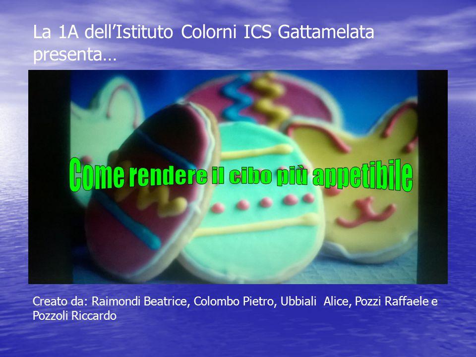 La 1A dell'Istituto Colorni ICS Gattamelata presenta… Creato da: Raimondi Beatrice, Colombo Pietro, Ubbiali Alice, Pozzi Raffaele e Pozzoli Riccardo