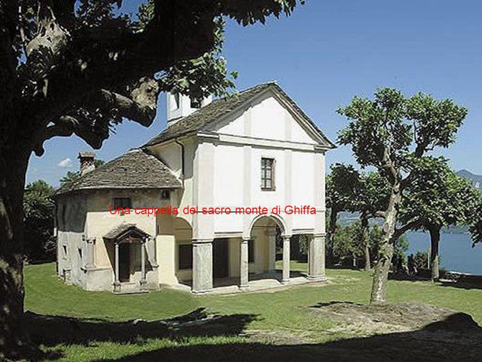 Una cappella del sacro monte di Ghiffa