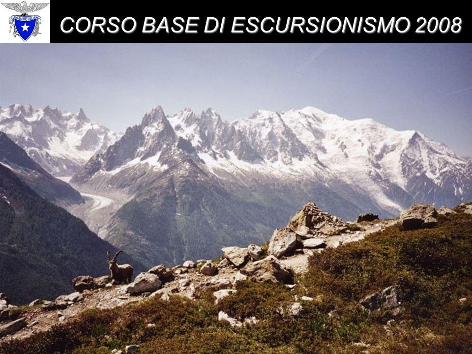 CORSO BASE DI ESCURSIONISMO 2008