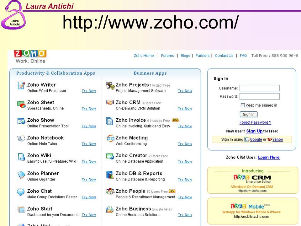 Laura Antichi http://www.zoho.com/