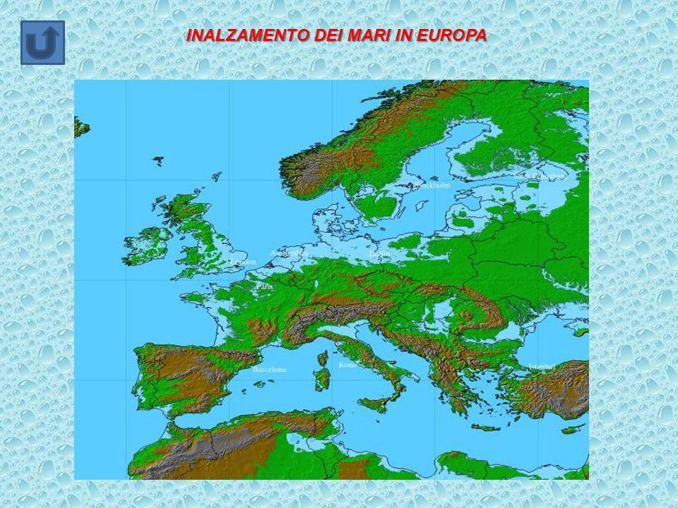 INALZAMENTO DEI MARI IN EUROPA