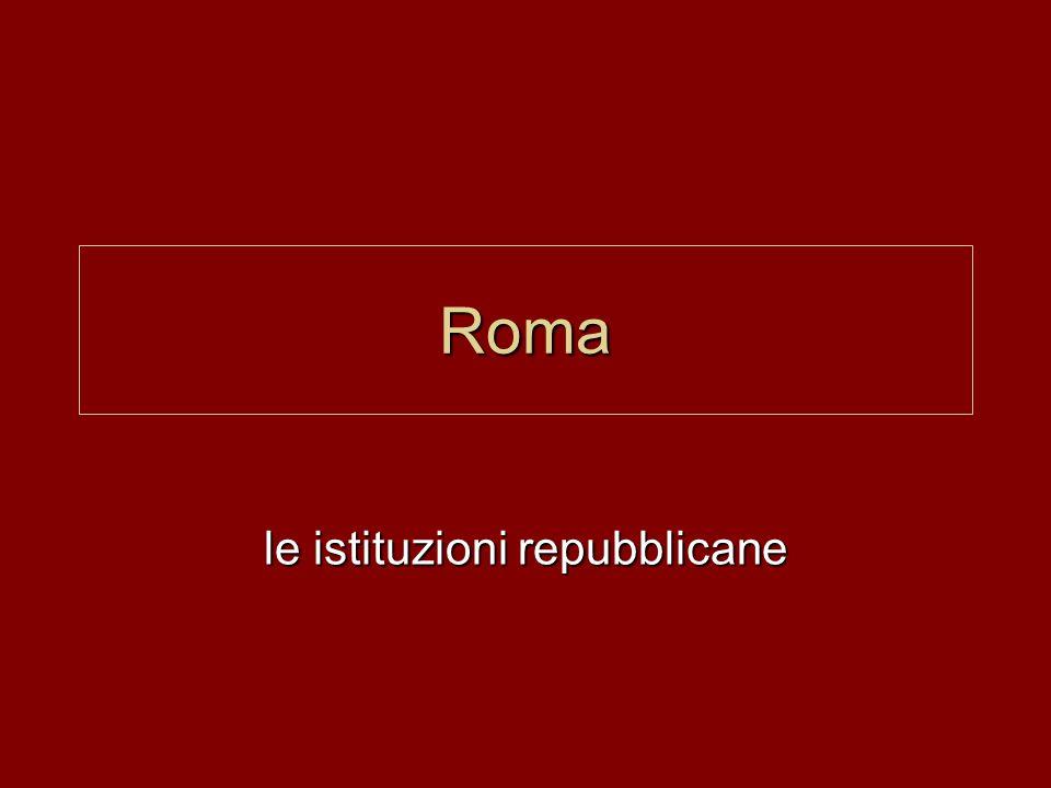 Roma le istituzioni repubblicane