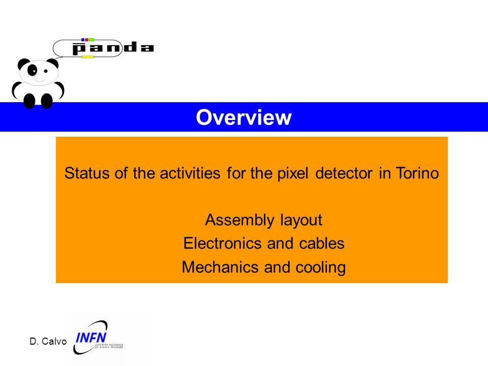 Updates from MVD Mechanics Responsible: G. Giraudo INFN - Torino