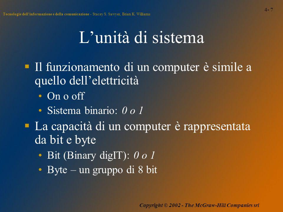 4- 7 Tecnologie dell informazione e della comunicazione - Stacey S.