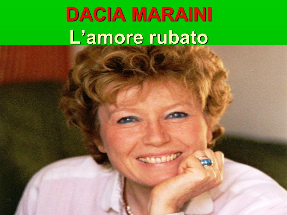 Dacia Maraini: la signora della letteratura italiana Dacia Maraini potrebbe essere considerata l'ambasciatrice della cultura italiana.
