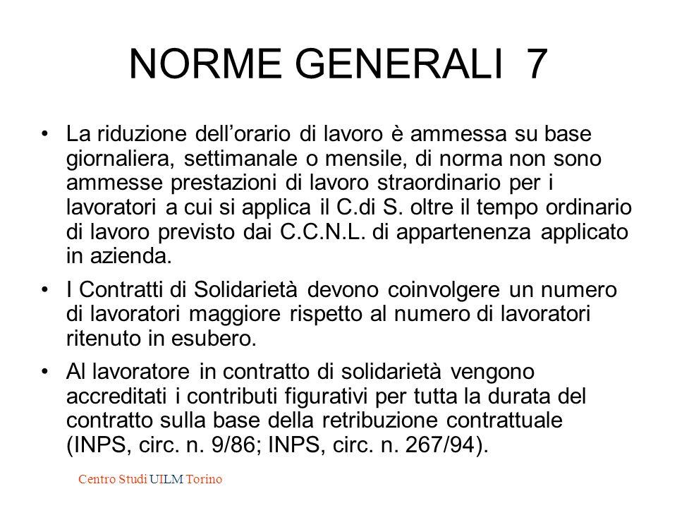 NORME GENERALI 8 L'accordo tra la Azienda e le OO.