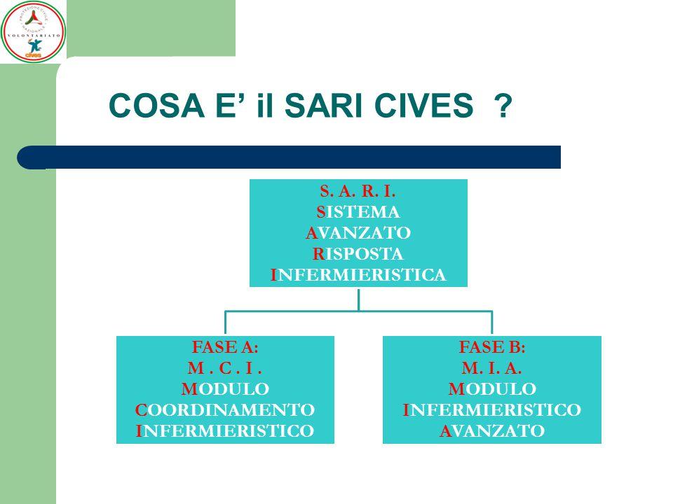 FINALITA' del Progetto SARI è quella di fornire al Sistema Nazionale di P.C.