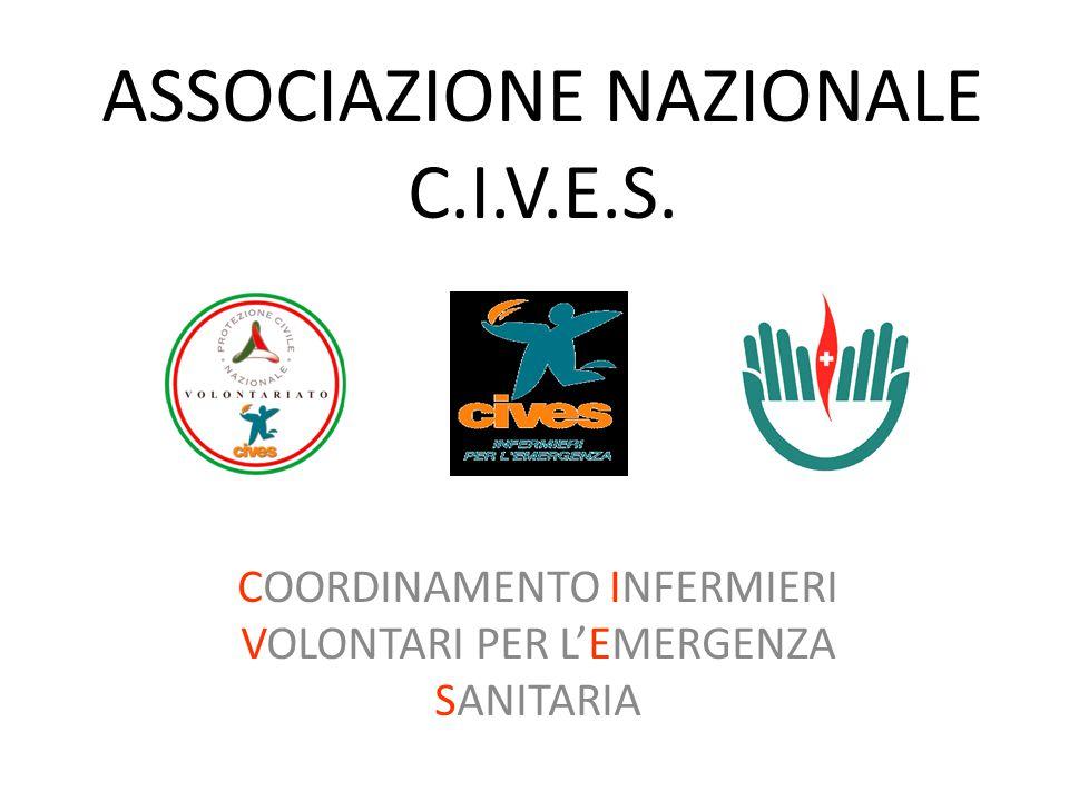 Associazione CIVES ONLUS – INFERMIERI PER L'EMERGENZA Nata da un progetto della Federazione Nazionale IP.AS.VI.