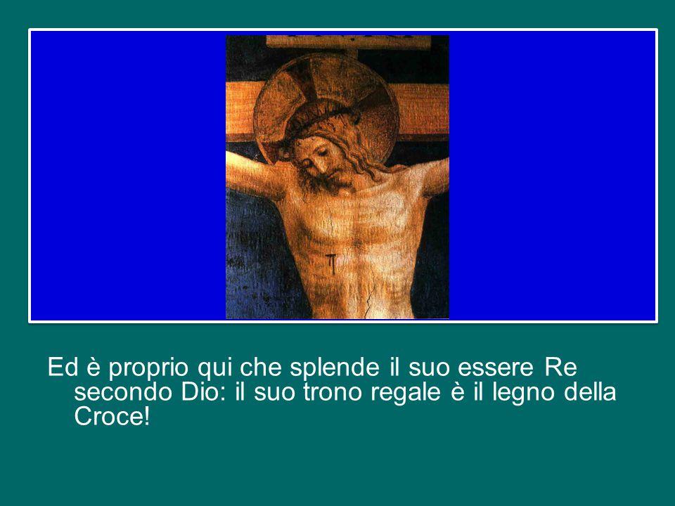 Gesù non entra nella Città Santa per ricevere gli onori riservati ai re terreni, a chi ha potere, a chi domina; entra per essere flagellato, insultato