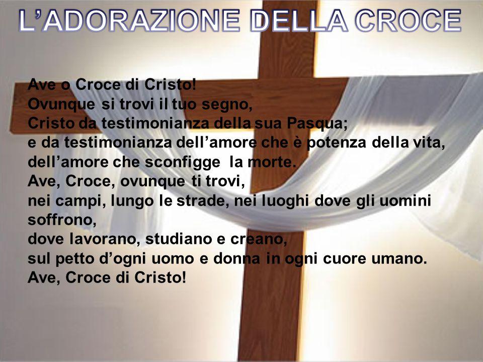 Ave o Croce di Cristo.