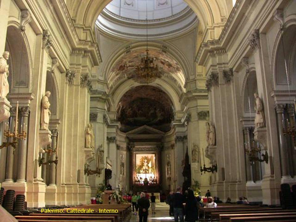 Palermo: altra ripresa Cattedrale