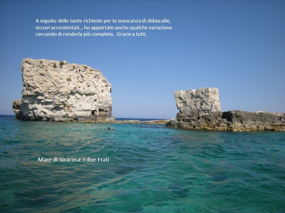 PERLE DI SICILIA Questa mia, voglio dedicarla al gestore di Mondopps e alla sua incantevole isola, che ci ha dato e continua a darci la possibilità di