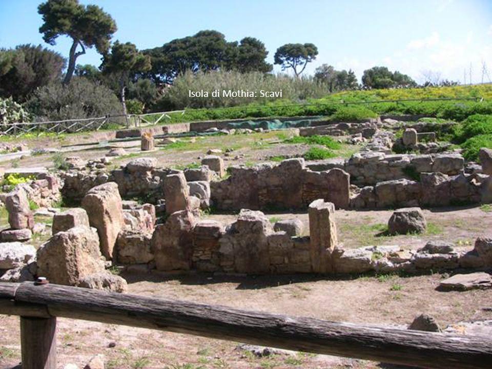 Isola di Mothia: Reperti Fenici