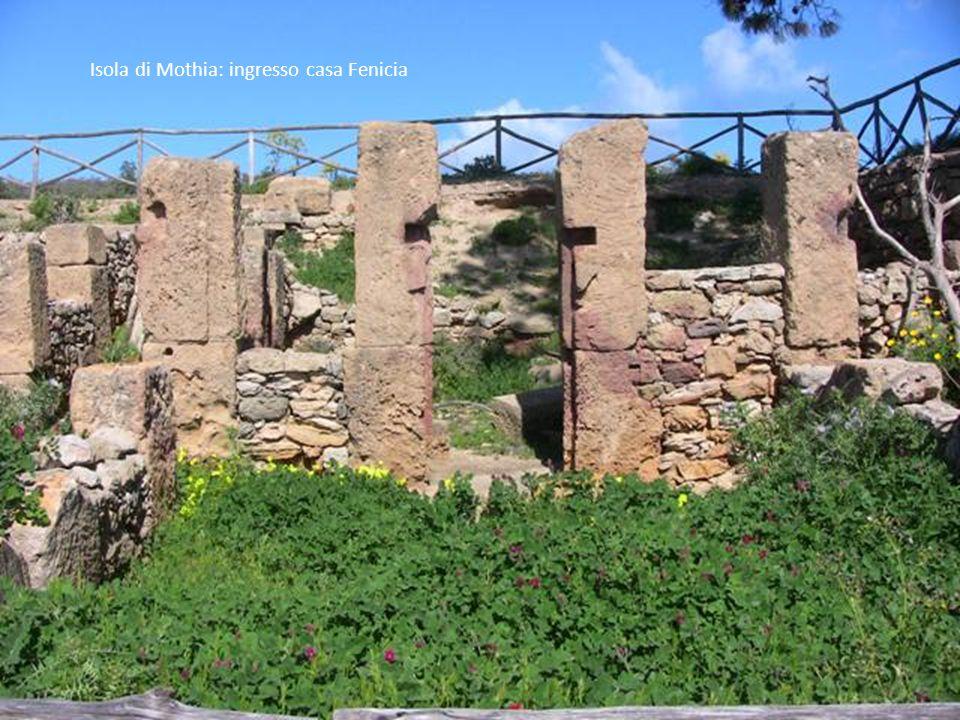 Isola di Mothia: Scavi