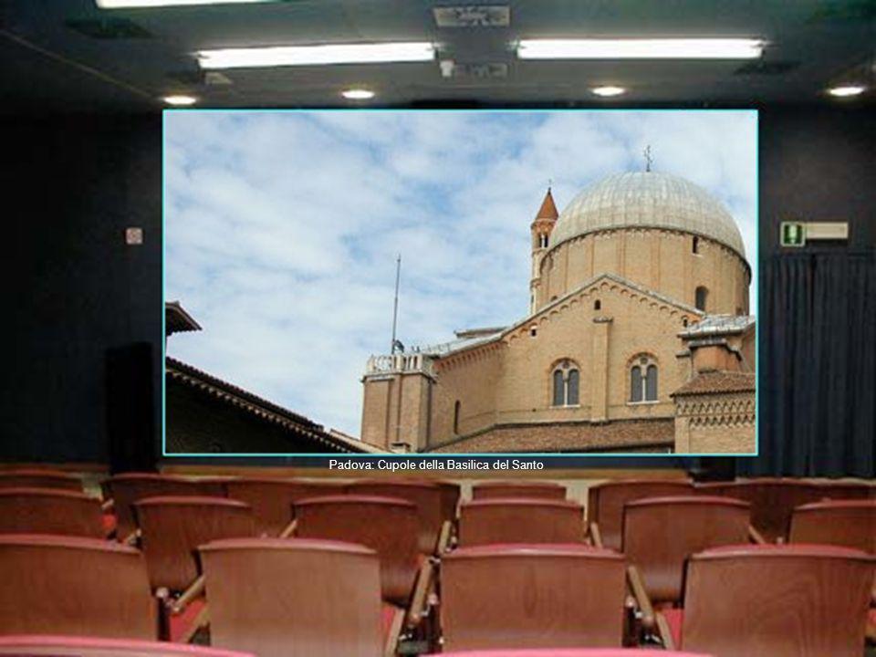 Trieste: Canal Grande Padova: Cupole della Basilica del Santo