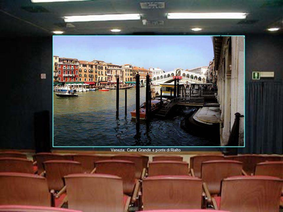 Venezia: Canal Grande e ponte di Rialto