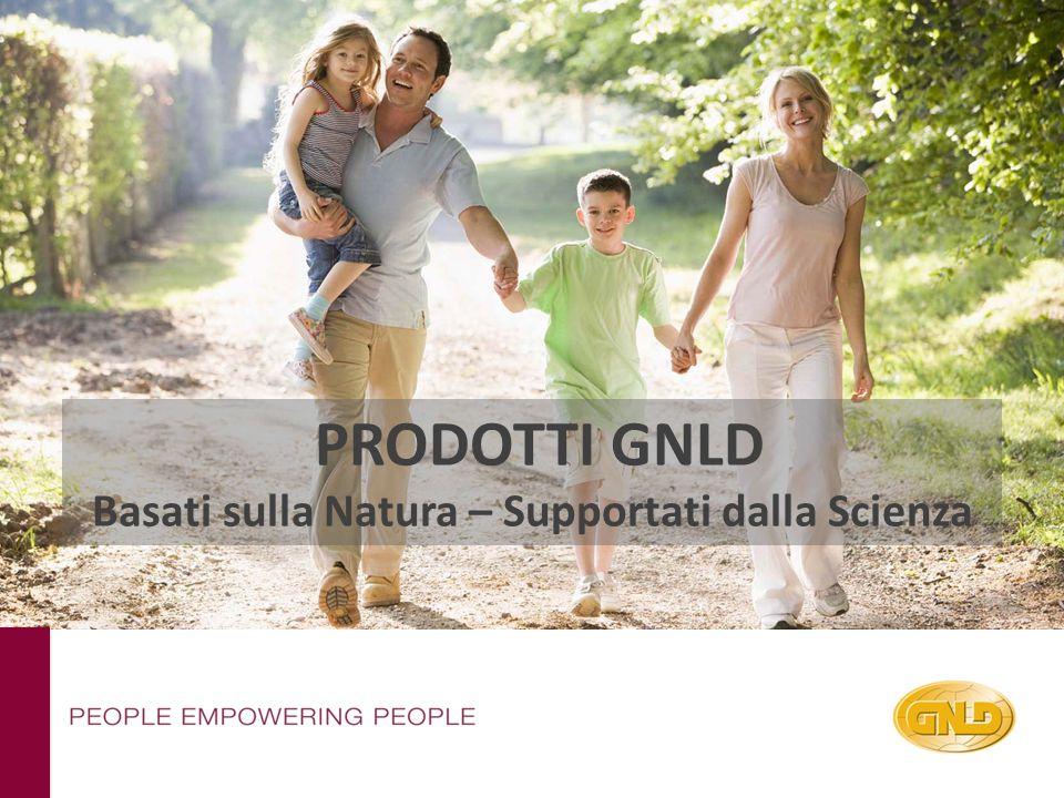 PRODOTTI GNLD Basati sulla Natura – Supportati dalla Scienza