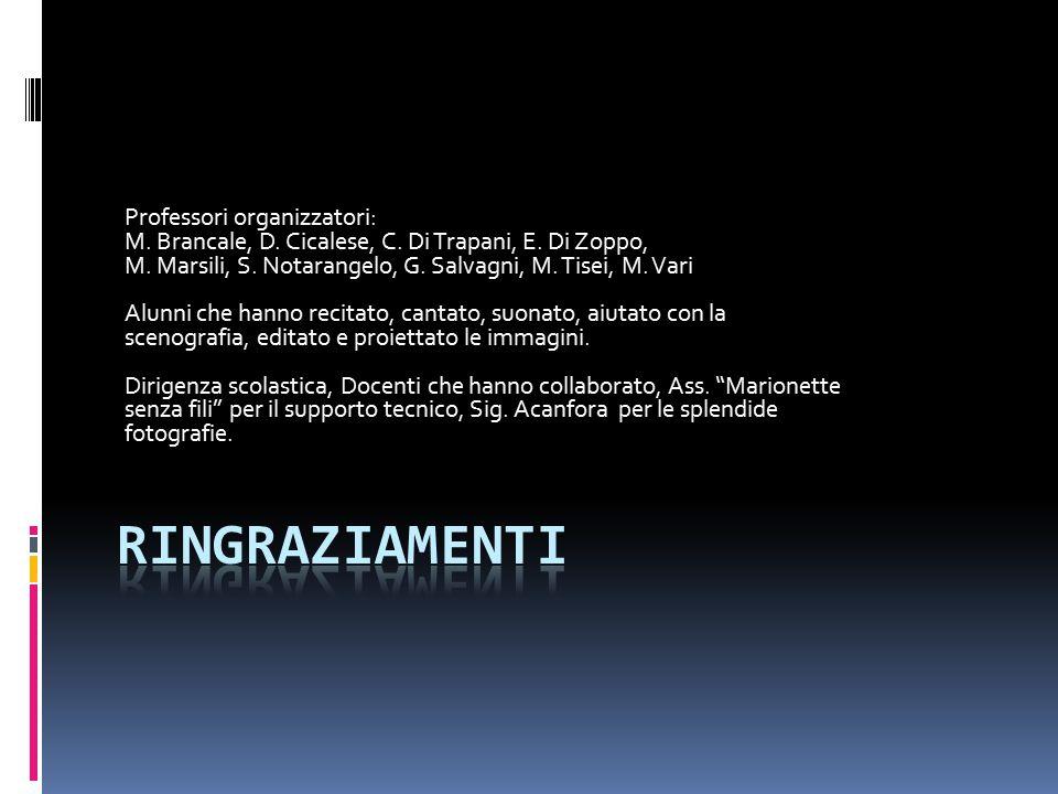 Professori organizzatori: M. Brancale, D. Cicalese, C.