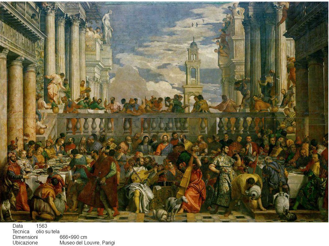 Data1563 Tecnicaolio su tela Dimensioni666×990 cm UbicazioneMuseo del Louvre, Parigi