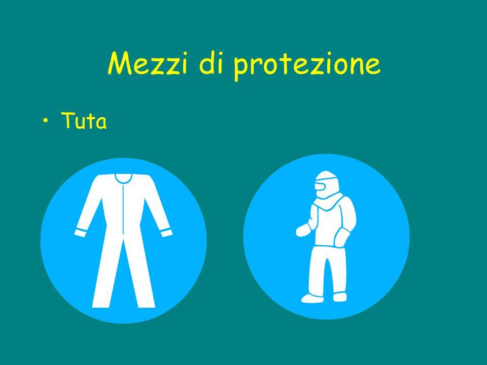 Mezzi di protezione Tuta