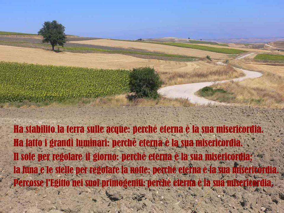 In questa storia ci sono tante valli oscure, ci sono tanti passaggi di difficoltà e di morte, ma Israele si ricorda che Dio era buono e può sopravvivere in questa valle oscura, in questa valle della morte, perché si ricorda.