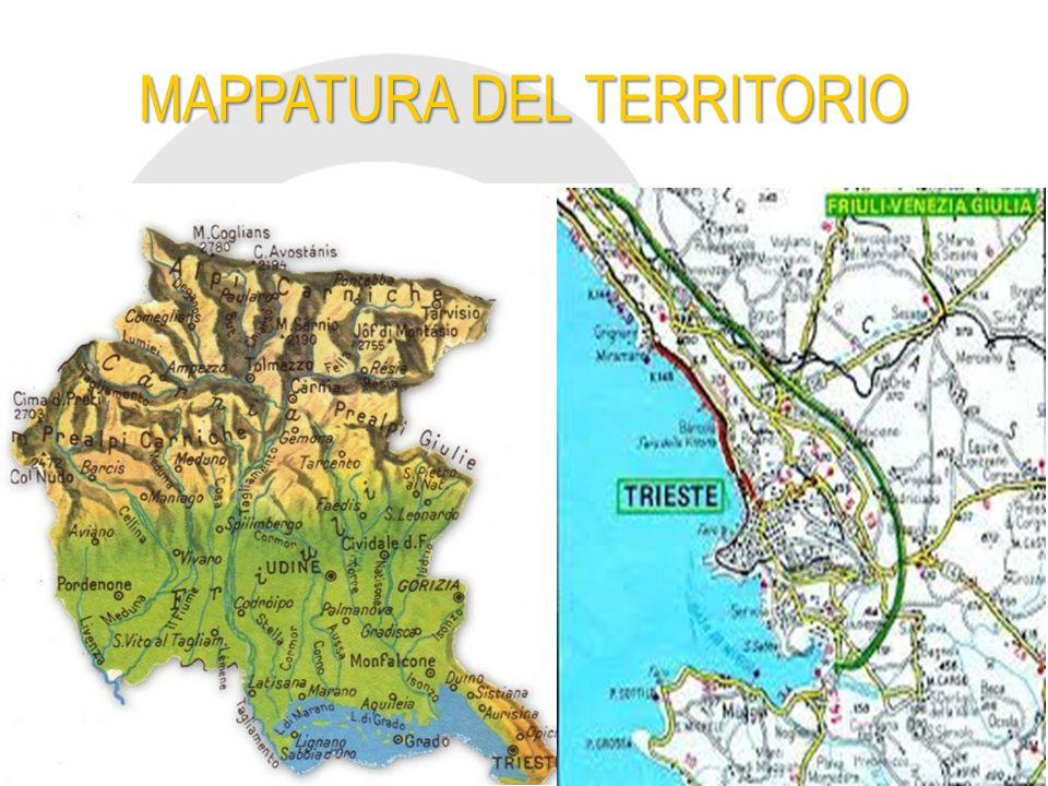 Conoscere il territorio Conoscere il territorio significa avere esatta cognizione delle influenze che caratterizzano le produzioni e tradizioni di ogni area di esso.