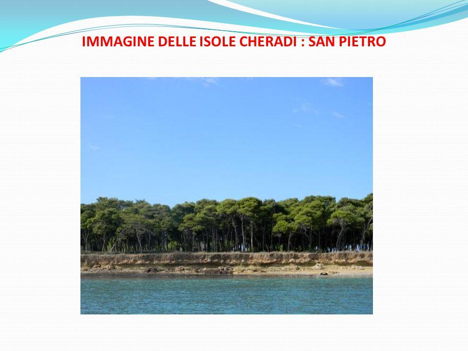 IMMAGINE DELLE ISOLE CHERADI : SAN PIETRO