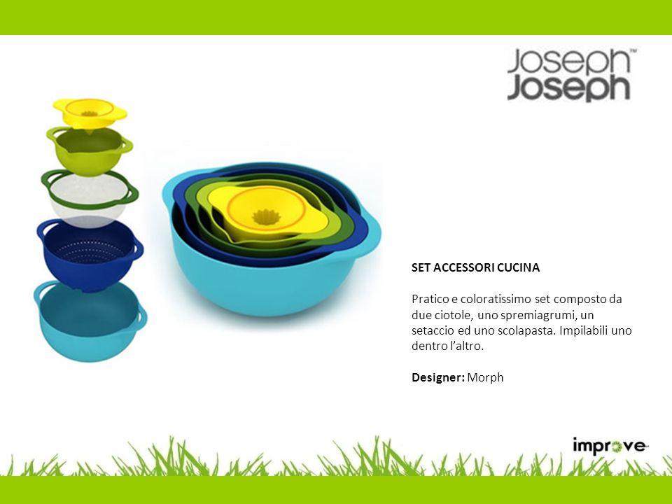 SET 4 TAGLIERI Set 4 taglieri colorati per specifiche tipologie alimentari.