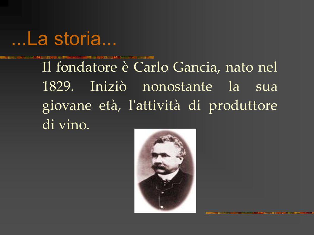 ...La storia... Il fondatore è Carlo Gancia, nato nel 1829.