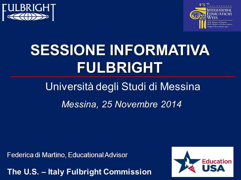 42 Risorse per Università Italiane Fulbright Fondazione Sud Grant di $ 25.000 riservato ad accademici americani per 5/6 mesi di ricerca e insegnamento presso le universita' italiane del Sud Italia.