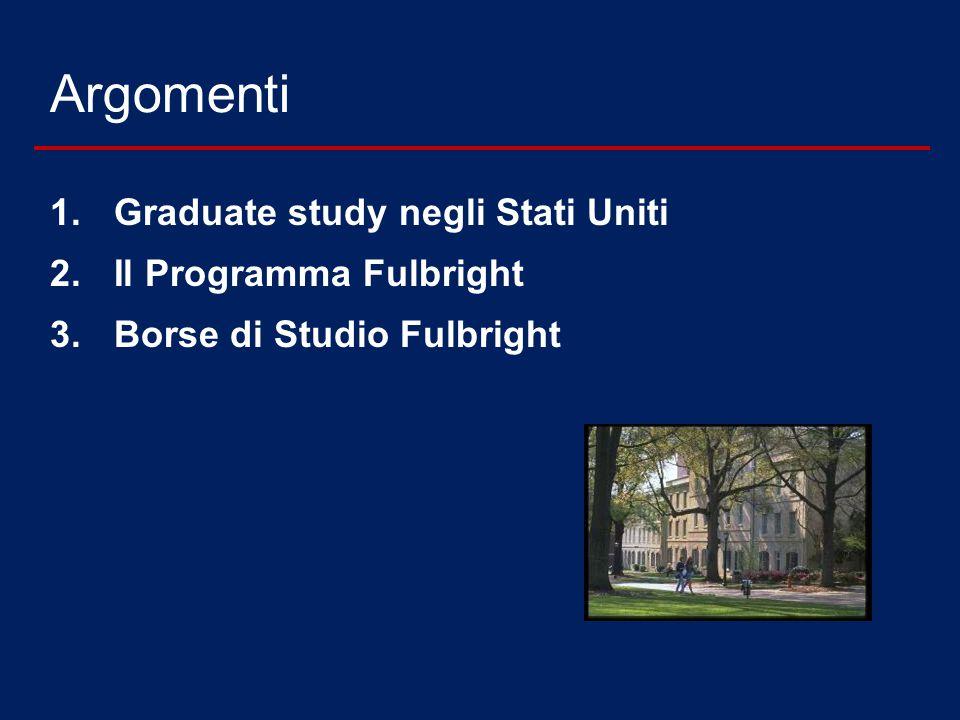 Fulbright Schuman Program Borse di studio Fulbright per progetti di ricerca in Studi Europei e Storia delle Relazioni tra Europa e Stati Uniti precedentemente concordati con una università americana 3-9 mesi - 3,000 $ / mese Scadenza 1 Dicembre 2014 - a.a.