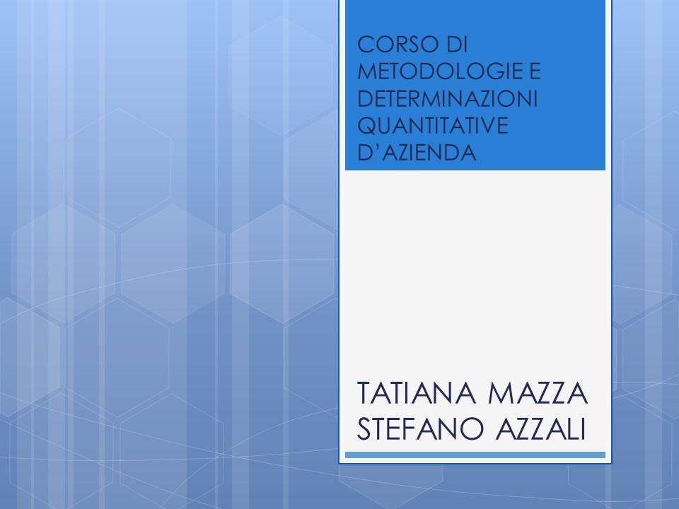SCOMPOSIZIONE DEL TASSO DI COPERTURA DELL'INDEBITAMENTO