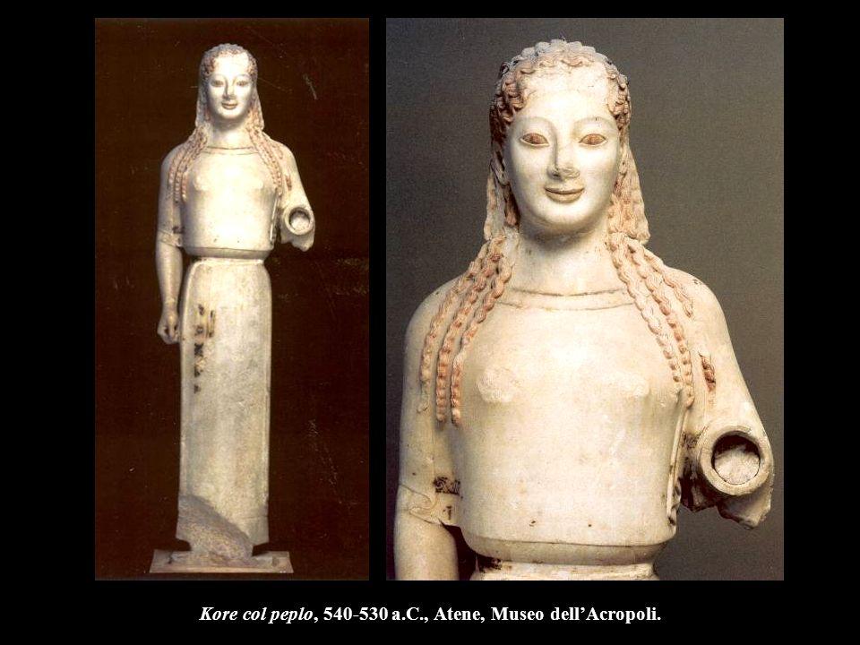Antenor, Kore, 520-510 a.C., Atene, Museo dell'Acropoli.