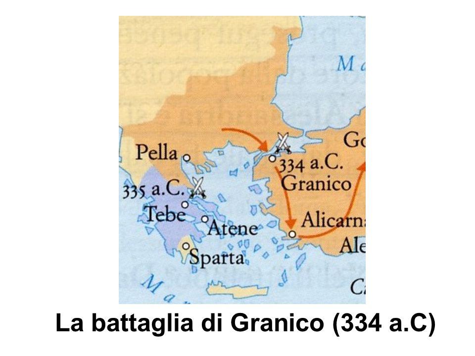 La battaglia di Granico (334 a.C)