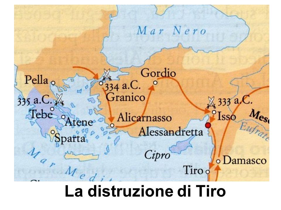 La distruzione di Tiro