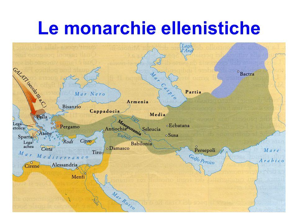 Le monarchie ellenistiche